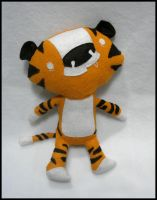 Scott Morse Tiger plush by elbooga