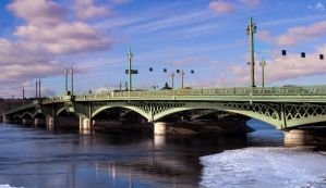 Blagoveshensky Bridge by Hilarious-Art