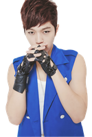 Infinite's L (Myungsoo) Render 1 by DubiDubiKelin