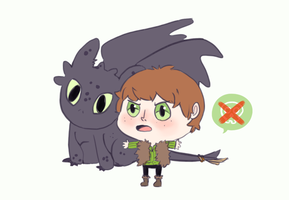 HTTYD - Hiccup by Outside-Box