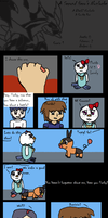 A Second Hero's Nuzlocke Co-Op run Black2 comic 1 by Dustyfootwarrior