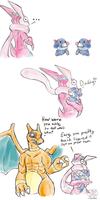 Two similiar but daddy knows by tigersylveon