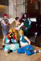 The guys of Final Fantasy IX by JadeKatana