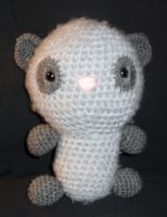 Crochet Along panda by Sugarcoatidli3z