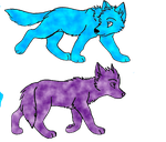 wolf pups by QueenBrittStalin