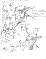 (Lights Out) Asura Idea sheet by Phycosmiley