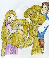 Too much hair by DitaDiPolvere