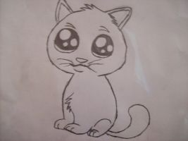 Kitty cat :3 by Daryl-Dixions-Pancho