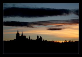 Prague Sunset by mariepb