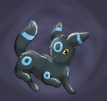 Shiny Umbreon by francy980