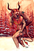 Krampus by TrollcreaK