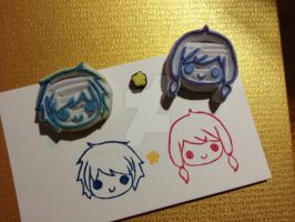 Original rubber stamps set by XluciferXX