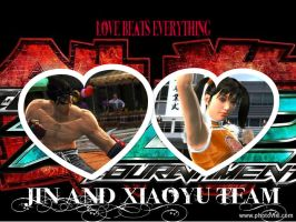 TTT2 TEAM JIN AND XIAOYU by Jesterca