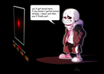 my Special attack (UT Spoilers ) by Skeleion