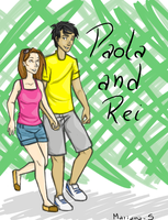 Request: Paola and Rei by Mariana-S