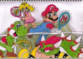 Mario Tennis 3DS by ForestKitty22
