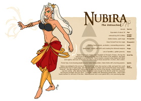Character Guide - Nubira by foxlee
