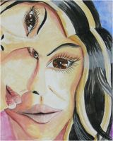 Abstract portrait by Trinity23