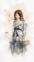 Fashion Illustration IV by psychoticsiren
