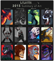 Summary of Art 2015 by LiLaiRa
