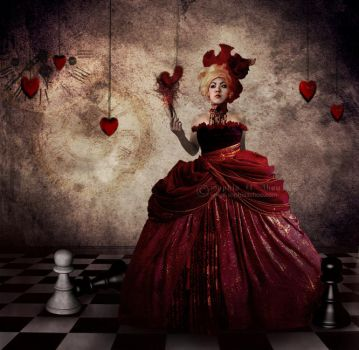 The Queen of Hearts. by sophiaazhou