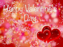 Happy Valentine's Day Wallpaper by ChiaraLily9