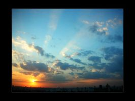 Sunset '' by caioac
