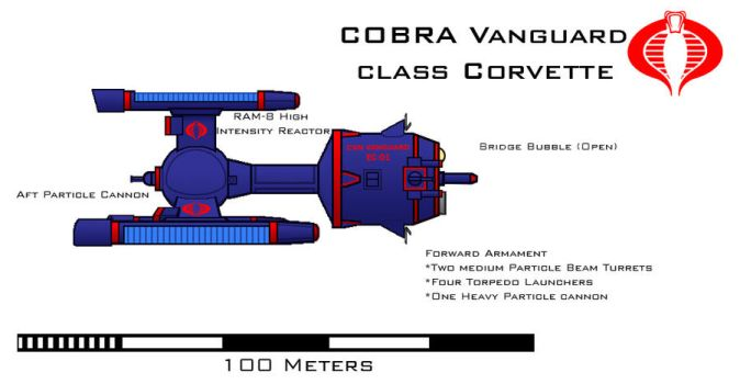 COBRA Vanguard class Corvette by Imperator-Zor