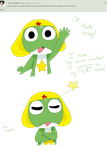 ~Ask the Sgt. Frog platoon~ Question 8 by AutumnKitten9