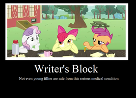Writer's Block by sonefire