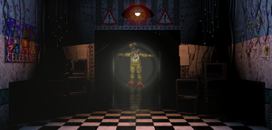 ..:Chica in the Hallway:.. by lllRafaelyay