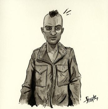 Travis Bickle by stayte-of-the-art