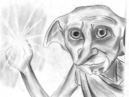 dobby from harry potter by jundals