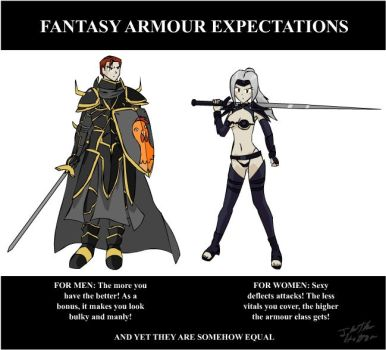 Fantasy Armour Expectations by mandalorianjedi