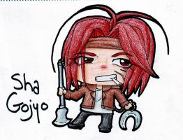 ArtRequest: Sha Gojyo by HeavenlyCondemned