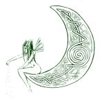 Celtic Moon by amuletts