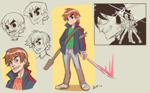 Prevew:Scott Pilgrim by E-Mann
