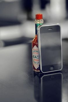 The iPhone, Smoking Hot by 3lo0o
