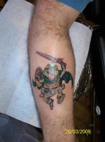 Chrono Trigger Frog by TattooSavage
