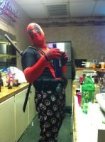 Deadpool Costume 2011 by lyndonnobles