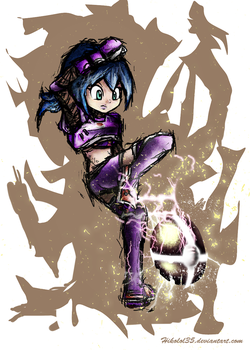 Mario Strikers Charged: Gladys by Hikolol35