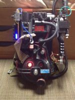 Ghostbusters Proton Pack by CosplayFan84