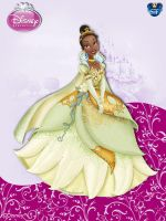 DisneyPrincess - Tiana4 ByGF by GFantasy92