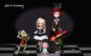 Alice in Poserland by Dani3D
