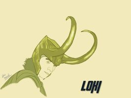 Loki - Wallpaper by joaood