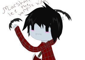 Marshall Lee The Vampire King by XxJesterpaintxX