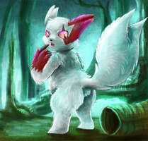 Zangoose by Deruuyo