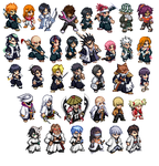 Bleach Chibis by Miralupa