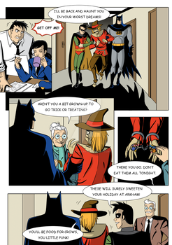 A typical night at Gotham by ice-and-fire-88