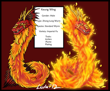 Dream Wyrm Keung Wing (Contest Entry) by Leurai